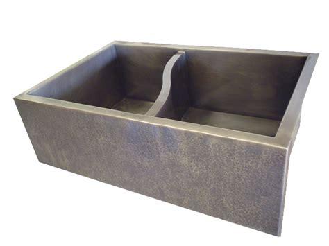 basin farmhouse sink custom sinks made to order lightsmith