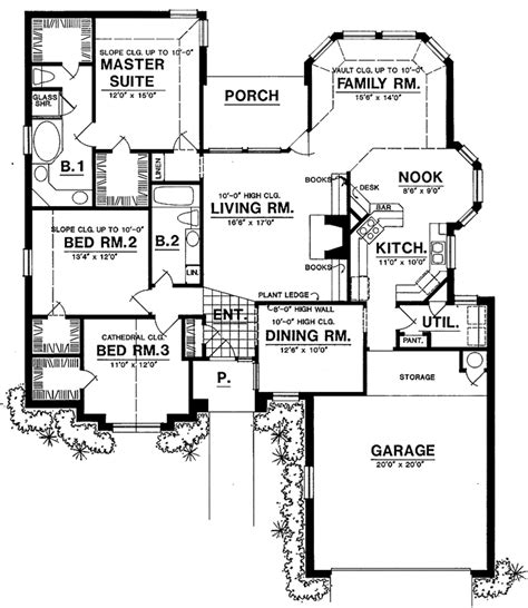 back bathroom floor plan revisions dscn home creative ranch style house plan 3 beds 2 baths 1925 sq ft plan