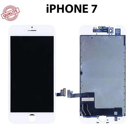 ecran lcd iphone 7 blanc ecran lcd fr