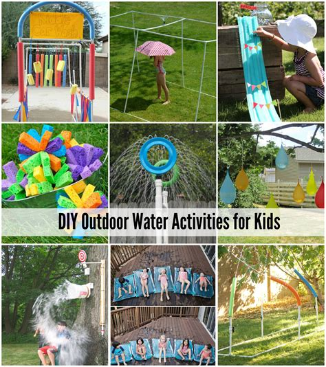 diy projects for kids 25 water games activities for kids