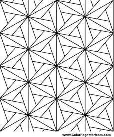 geometric color geometric shapes coloring page 73