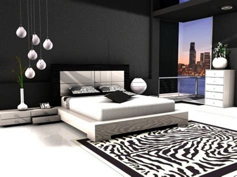 chic black and white bedrooms decor chic black and white