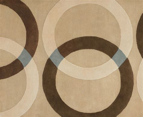 contemporary brown beige circle patterned blackout brown circle rug roselawnlutheran