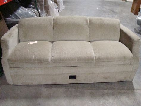 rv couches used rv furniture used rv motorhome furniture tan cloth jack