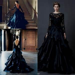 black lace wedding dress plus size naf dresses