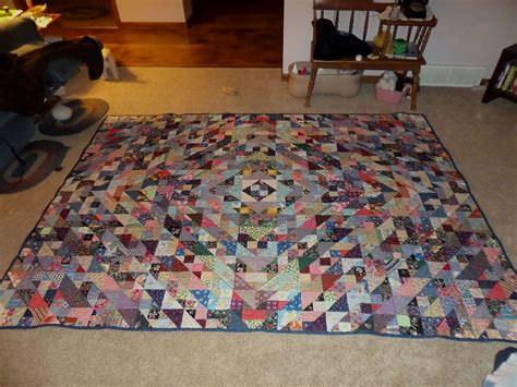 Size Of Quilt Finished by Finished 2nd King Size Quilt