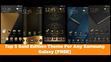 themes samsung galaksi v top 5 gold theme for any samsung galaxy device free