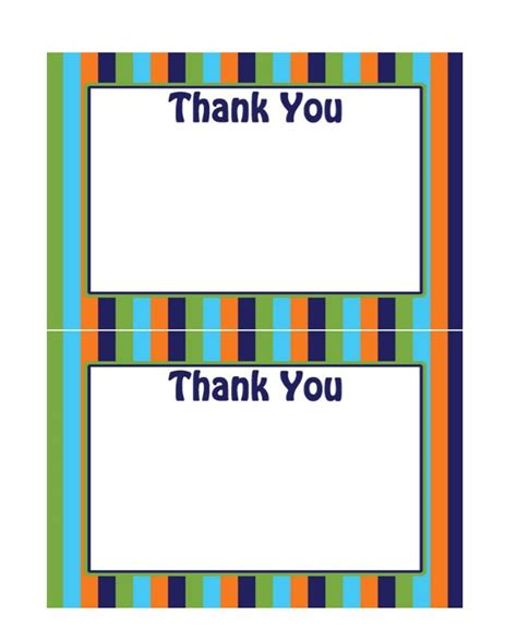 Free Custom Thank You Card Template by 30 Free Printable Thank You Card Templates Wedding