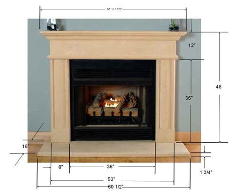 Fireplace Mantle Height by Cast Fireplace Mantel Surround Mantels Mantelcraft