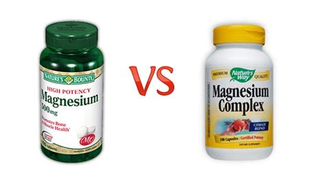 better you magnesium review review best magnesium supplement nature s bounty versus