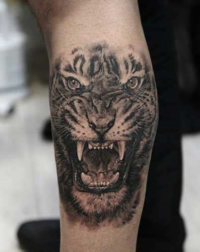 animal portrait tattoos rebel circus