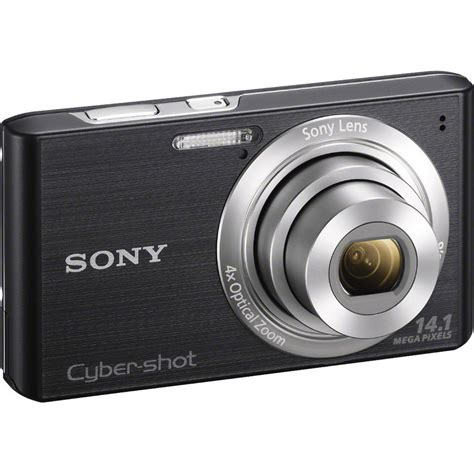 Kamera Digital Sony Ericsson Cybershot sony cyber dsc w610 digital black dscw610 b b h