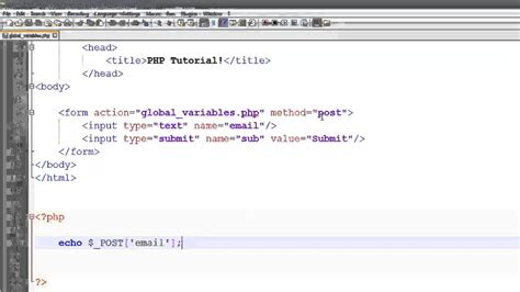 tutorial php programming tutorial php mysql web development part 5 youtube