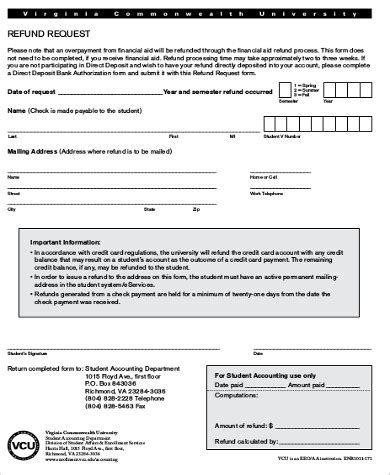 refund form template sle refund request form 9 exles in word pdf