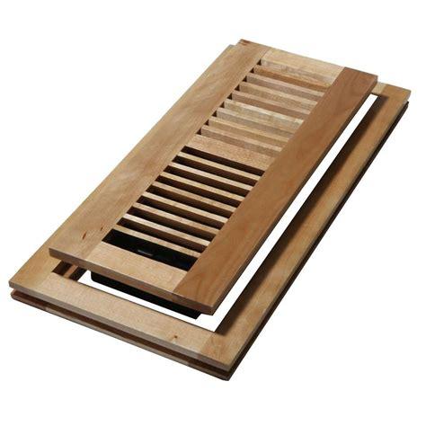 decor grates      wood natural maple flush mount floor register wmlf   home depot