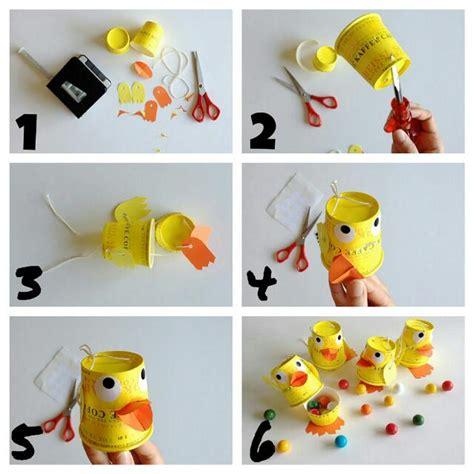 membuat mainan edukasi anak membuat mainan karakter bebek dari cangkir bekas buahatiku