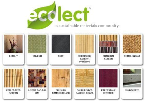 home interior materials ecolect creating a sustainable materials database and