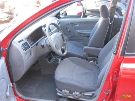 2004 Kia Interior Gray Interior 2004 Kia Sedan Photo 47785107