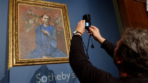 picasso paintings garcon a la pipe the scream sold for nearly 120 million cnn