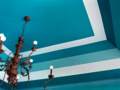 Cool Ceiling Painting Ideas by Tray Ceiling Ideas How To Paint Horizontal Stripes Hgtv