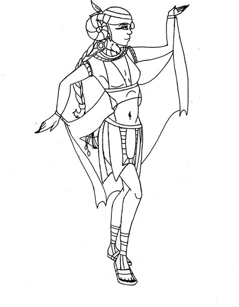 free coloring pages of ancient egyptian gods