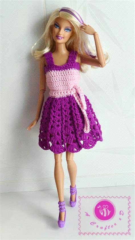 pattern clothes for barbie barbie tank dress free crochet pattern blogger crochet