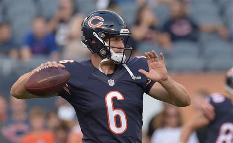 famous bears quarterbacks chicago bears qb cutler ready for return against vikings