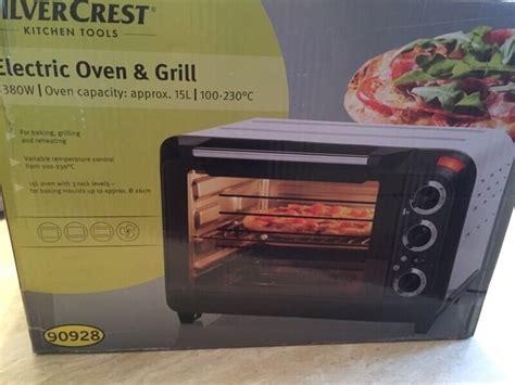 mini electric oven grill silvercrest  bolton