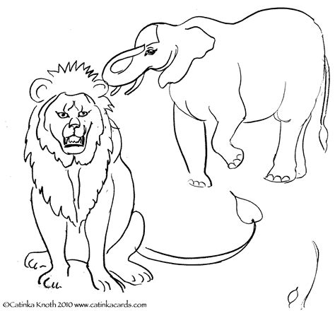 lion tamer coloring page how to draw circus lion