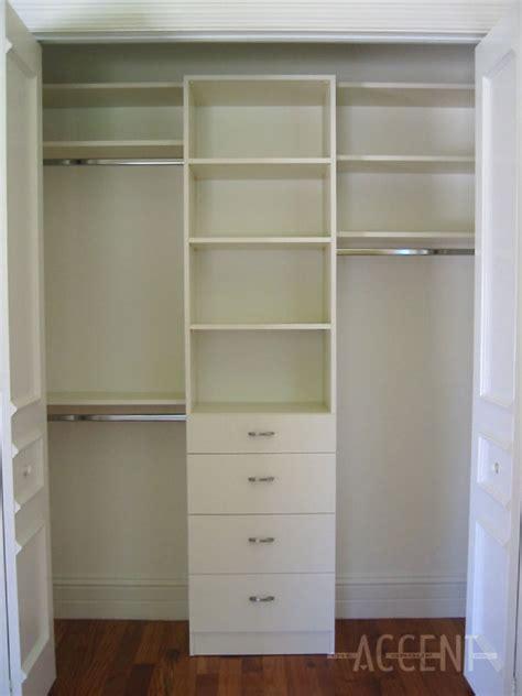 White Closet Shelving Systems Melamine Closet System Roselawnlutheran