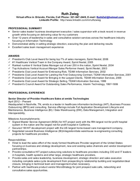 resume sles healthcare the professional health insurance resume 2016