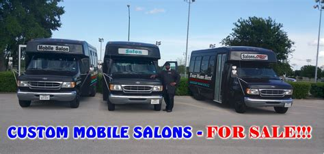 salon mobile custom mobile salon buses for sale www