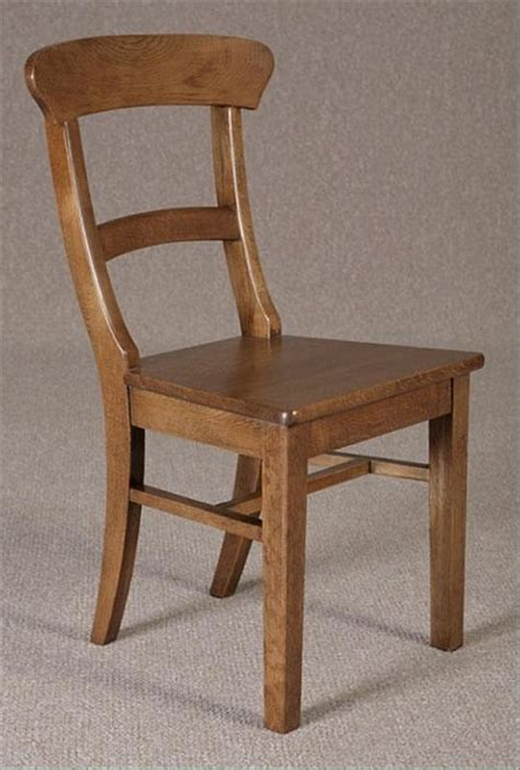 Oak Kitchen Chairs by Curved Back Dining Chair
