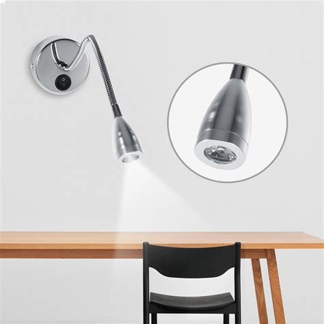 Modern Bedroom Wall Reading Light 3w 85 265v Modern Led Wall L Gooseneck Bedroom