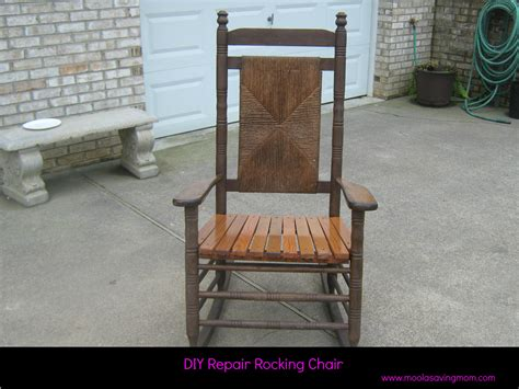 Repair Rocking Chair Make It Mondays Repair Rocking Chair Moola Saving