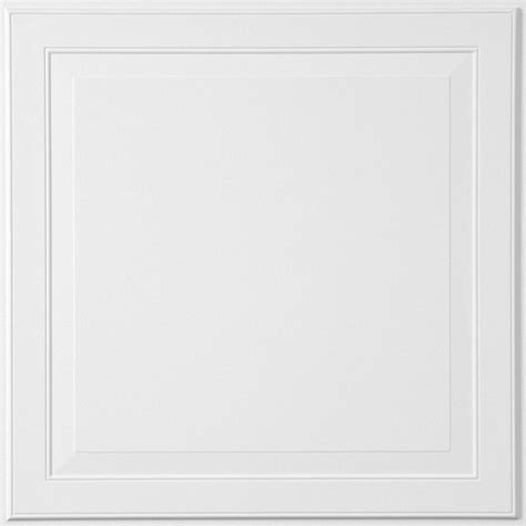 Raised Panel Ceiling Tiles by Single Raised Panel Homestyle Ceilings Coffered Paintable