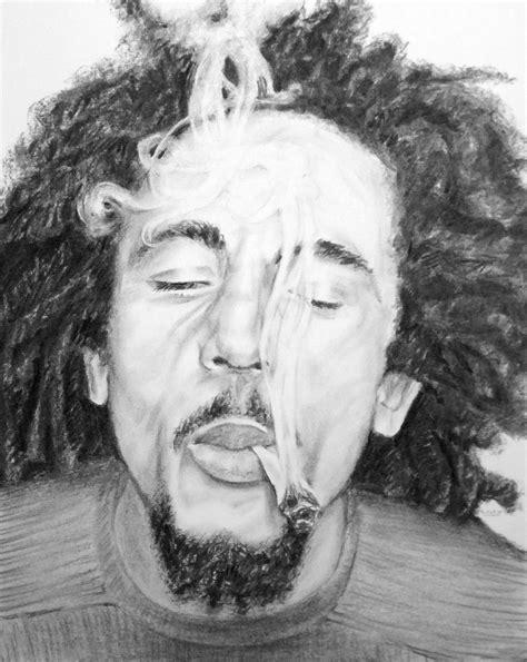 Portraits de Bob Marley - Seb Peinture