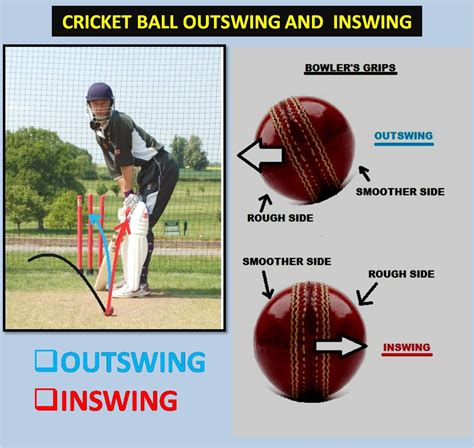 cricket ball swing how to swing a cricket ball khelmart org it s all