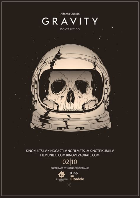 the movie art of gravity alternative movie poster art by harijz on