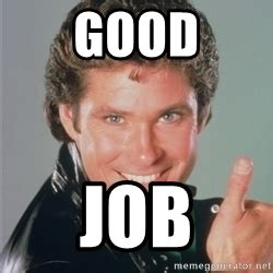 Thumbs Up Meme - david hasselhoff thumbs up meme generator