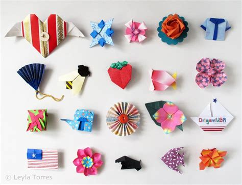 Topi Anak Fish origami and origami pins