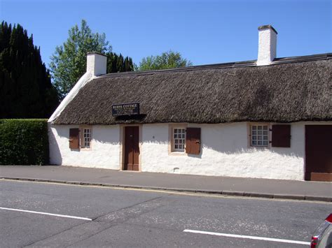 Burns Cottage by About Robert Burns Robbie Burns Rabbie Burns The Bard Of