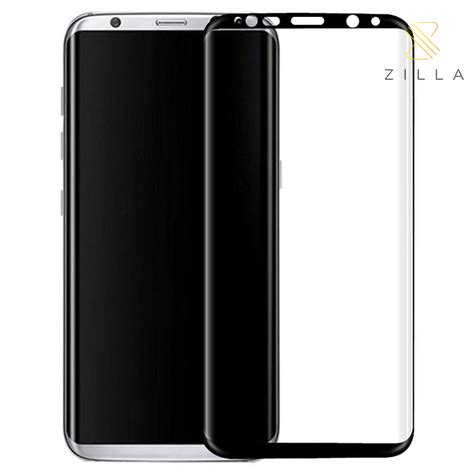 Zilla Tempered Glass 0 26mm For Samsung Galaxy Promo zilla 3d premium tempered glass curved edge 9h 0 26mm for samsung galaxy s8 black