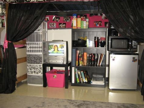 lofted bed dorm best 20 loft bed curtains ideas on pinterest