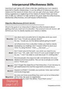 counseling reflective paper