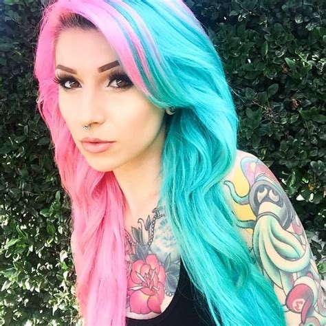 best shoos for colored hair best 20 half dyed hair ideas on colour