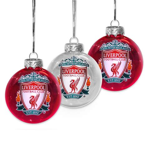 liverpool fc official xmas gift box christmas decoration