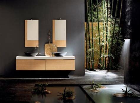badezimmer ideen bambus 33 dunkle badezimmer design ideen
