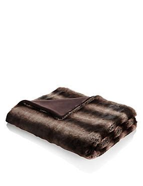 marks and spencer sofa throws faux fur throw