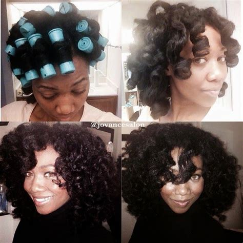 how to roll hair with jumbo flexi rods 183 best natural hair roller set images on pinterest